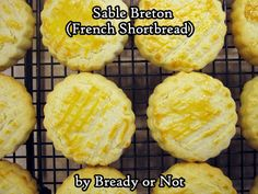 Bready or Not: Sable Breton (French Shortbread) Round Cookie Cutters, Food Scale, Shortbread Cookies, Salted Butter, Baking Sheet, Rolling Pin, Food Print, Cookie Recipes, A Food