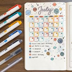 If you enjoy creating monthly spreads for your bullet journal, I& sharing 24 monthly bullet journal ideas that you& want to steal. Bullet Journal Calendar, Bullet Journal Weekly Spread, Bullet Journal Writing, Bullet Journal Aesthetic, Bullet Journal School, Bullet Journal Ideas Pages, Monthly Bullet Journal Layout, Work Calendar, Bullet Journal Original
