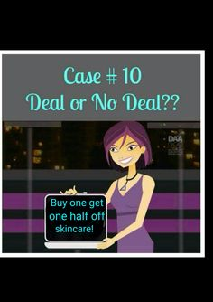 Deal or no Deal Younique style party game/#10 www.illegallengthsbycristina.com
