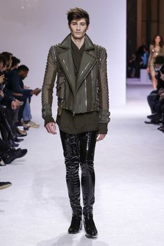 Balmain Fall 2018 Menswear Fashion Show Collection