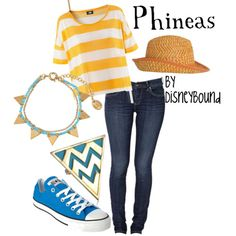 I dont like Phineas And Ferb but i really like this outfit! <3
