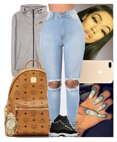 """""""Untitled #839"""" by msixo ❤ liked on Polyvore featuring NIKE, MCM and MICHAEL Michael Kors"""