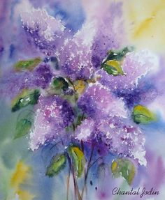 Chantal Jodin   WATERCOLOR
