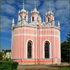 Chesme Church, Saint Petersburg, Russia