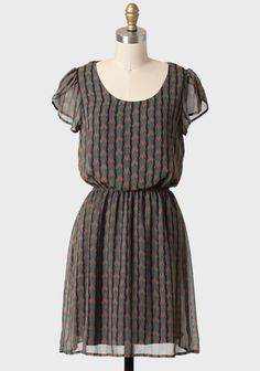 Create Something Printed Dress | Modern Vintage Layer 10 | Modern Vintage Layering For Fall