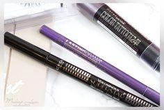 Maybelline Lasting Drama Waterproof Gel Pencil, L'Oréal Voluminous Superstar liquid eyeliner, Maybelline Color Tattoo 24 Stunden Crayons