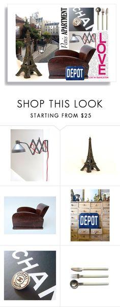 """Paris Apartment"" by feelingofdejavu ❤ liked on Polyvore featuring interior, interiors, interior design, home, home decor, interior decorating and parisapartment"