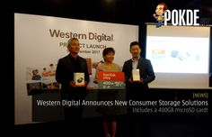 Western Digital unveiled a series of new consumer storage solutions which include a personal cloud storage device and a 400GB memory card.   Share this:   Facebook Twitter Google Tumblr LinkedIn Reddit Pinterest Pocket WhatsApp Telegram Skype Email Print