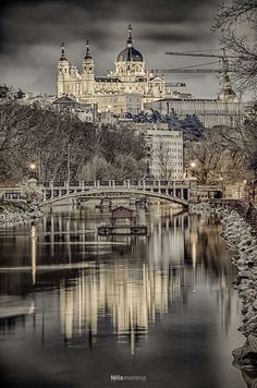 Beautiful picture in Madrid, Spain