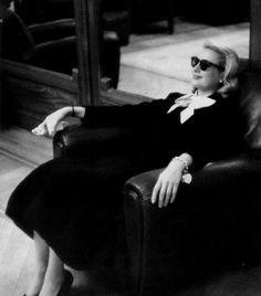 Grace Kelly at the Carlton Hotel during the Cannes Film Festival, 1955. Photo: Edward Quinn.