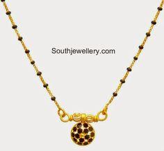 light weight black beads chains