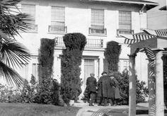 The home where William Desmond Taylor was found murdered in 1922.
