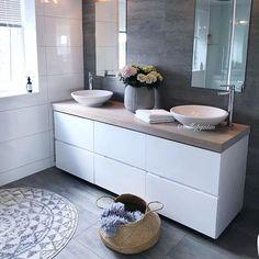 God lørdagskveld alle fine🍒 Kylling på menyen ikveld- og kos med familien💖 H - Craftsman Bathroom, Rustic Bathrooms, Modern Bathroom, Bathroom Sink Bowls, Bathroom Sink Storage, Bathroom Cost, Bathroom Ideas, Bad Inspiration, Bathroom Inspiration