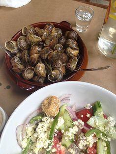 Cretan nails and salad!