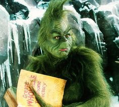 """Great Character: The Grinch (""""How the Grinch Stole Christmas"""") 