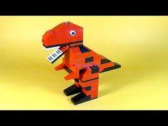 ▶ How To Make Lego DINOSAUR T-REX - 10664 LEGO® Bricks and More Creative Tower Tutorial - YouTube Lego For Kids, Toys For Boys, Lego Dinosaurus, Lego Studios, Lego Dragon, Custom Puppets, Lego Club, Lego Activities, Lego Jurassic