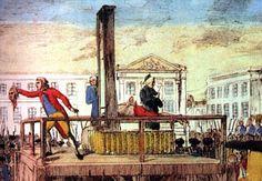 Gebeurtenis: Lodewijk XVl word onthoofd. Na lang absolutisme word het teveel voor de burgerij, de adel werd vermoord omdat ze niks deden aan de armoede buiten Versailles, maar niet alleen de adel werd vermoord, de koning ook! Ze werden vermoord door de geotine omdat dat sneller ging doordat het mes schuin was. Iedereen mocht komen kijken. Lodewijk XVl werd vermoord in het jaar 1793.
