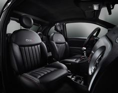 Great looking interior of Fiat 500 S (Sport Edition for The Netherlands, model Fiat 500c, My Dream Car, Dream Cars, Crossover, Fire Safety For Kids, Child Safety, New Fiat, Automobile, 72 Hour Kits