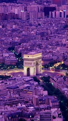 Paris in purple #GUESSGirlBelle