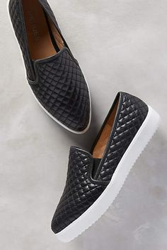 Quilted Slip-On Sneakers #AnthroFave