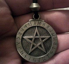 Supernatural Pentacle Symbol Pendant With by WitchcraftsGifts, $13.00