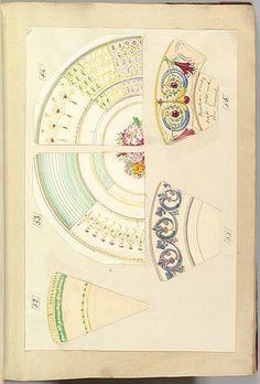 Alfred Henry Forrester [Alfred Crowquill]  Five Designs for Decorated Plates  The Metropolitan Museum of Art (Erdinç Bakla archive) (Erdinç Bakla archive)