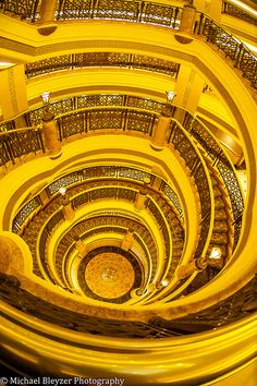 Golden Stairs by mbfirefly on Flickr.
