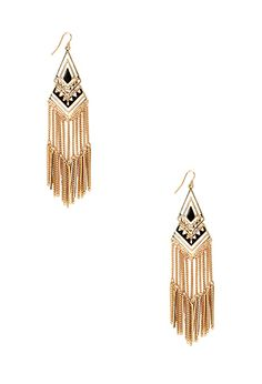 Hieroglyphic Drop Earrings | FOREVER21 - 1000107188