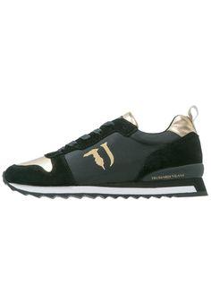 0f619c98bd817 voordelige Trussardi Jeans Sneakers laag black gold (zwart)