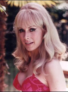 Barbara Eden is best known for her role as the belly-baring genie on NBC's hit I Dream of Jeannie. Although shedding its squeaky clean image from Barbara Eden, Classic Actresses, Beautiful Actresses, Actors & Actresses, Julie Newmar, I Dream Of Jeannie, Classic Beauty, Timeless Beauty, Classic Tv