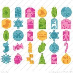 Cricut® Very Merry Tags Seasonal Cartridge