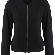 Pocket Zip Up Bomber Jacket  $48.99    Specification  Color: BLACK  Size: XS, S, M, L, XL, 2XL  Category: Women > Outerwear > Jackets & Coats     Clothes Type: Jackets  Material: Polyester  Type: Wide-waisted  Clothing Length: Regular  Sleeve Length: Full  Collar: Stand-Up Collar  Pattern Type: Solid  Embellishment: Zippers  Style: Casual  Season: Fall,Spring  Weight: 0.460kg  Package Contents: 1 x Jacket