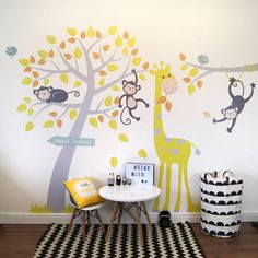 Are you interested in our wall stickers ? With our animals and tree wall stickers you need look no further.