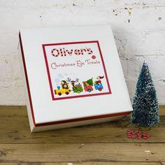 Personalised Santa's Train Christmas Eve Surprise Box