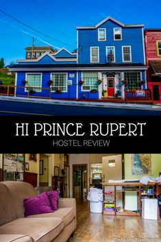Quaint, homely and packed full of facilities, HI Prince Rupert Pioneer Guesthouse is the best choice for a place to stay in Prince Rupert - Hostel Review: HI Prince Rupert Pioneer Guesthouse - The Trusted Traveller Travel Advice, Travel Guides, Travel Tips, Travel Stuff, Budget Travel, Amazing Destinations, Travel Destinations, Canada Travel, Travel Usa
