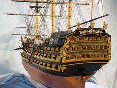 HMS Victory (Trafalgar) scale model ship