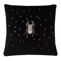 Clymene II Scatter Cushions, Beetle, June Bug, Beetles, Bugs, Beetle Insect, Throw Pillows, Decor Pillows