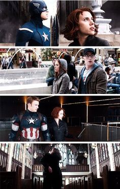 """I didn't want you to be alone"" #Romanogers"