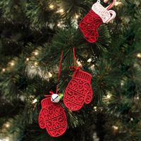 Lace Pocket Ornament  - Urban Threads