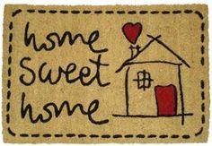 Koko Doormats Sweet Home Felpudo, Coco, 40 x 60 cm Sweet Home, Diy Crafts, Rugs, Base, Home Decor, Doormats, Koko, Fibres, Products