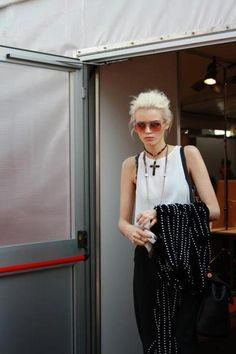 Abbey Lee Kershaw | model | street style | grunge | 90s