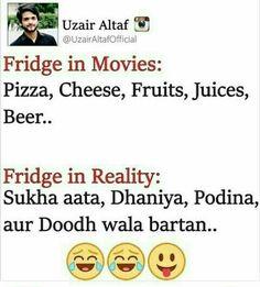 'Doodh wala bartan' but no 'doodh'! Crazy Jokes, Crazy Funny Memes, Funny Facts, Wtf Funny, Hilarious, Real Facts, Funny Life, Stupid Memes, Funny Qoutes