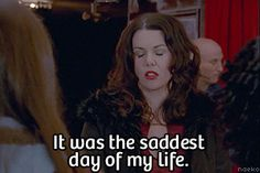 """And how to feel when the show ended 