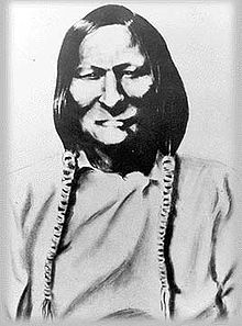 Black Kettle - one of the Cheyenne Chief at the Sand Creek Massacre of 1864, died two years later at the Battle of Wahita River