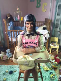 Melanie Martinez BTS Behind The Scenes of the Cry Baby music video