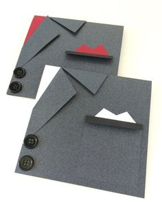 Men's Suit Card - Black - Will you be my Best Man - Ask a Groomsman - Wedding Party Cards - Groomsmen Card - Usher - Officiate - Page Boy