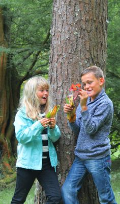 Catch a falling leaf at Glendurgan - one of our '50 things to do before you're 11¾'