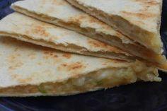 Potato Cheese Quesadillas
