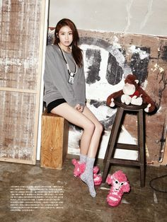 Oh Boy! Magazine April Issue (2013) || Heo Gayoon