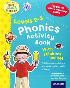 From 0.20 Oxford Reading Tree Read With Biff Chip And Kipper: Levels 2 To 3. Phonics Activity Book